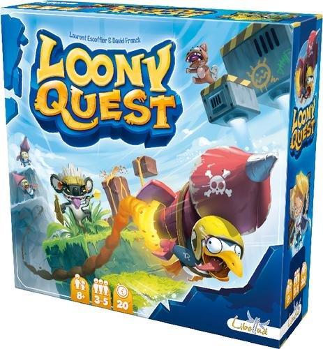 Loony Quest (Brettspiel, Gesellschaftsspiel, Buch.de)