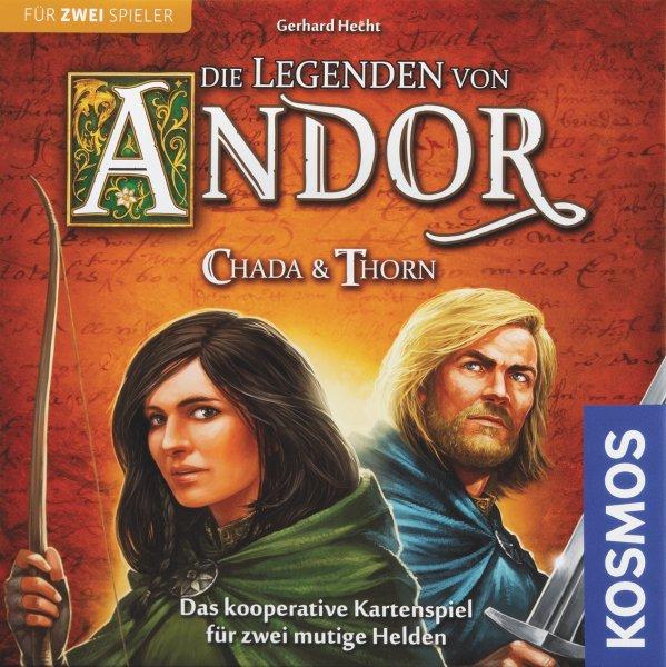 Legenden von Andor - Chada & Thorn (Brettspiel, Gesellschaftsspiel, 2-Spieler, Buch.de)