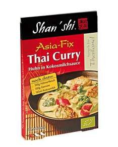 Amazon Prime : Shan'Shi Asia Fix Thai Curry, 10er Pack (10 x 21 g) Nur 6,23 € statt 19,90 €