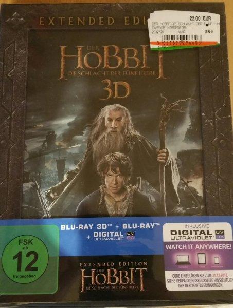 Der Hobbit Die Schlacht der fünf Heere 3d Extended Edition