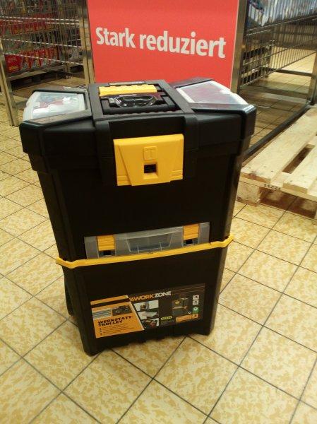 *Lokal*WorkZone Werkstatt-Trolley Aldi Süd 19,99€ statt 37,99€