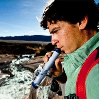 Mini Überlebens-Wasserfilter (filter 99,999% der Bakterien) 13,03 EUR. Dtl. ab 25 EUR