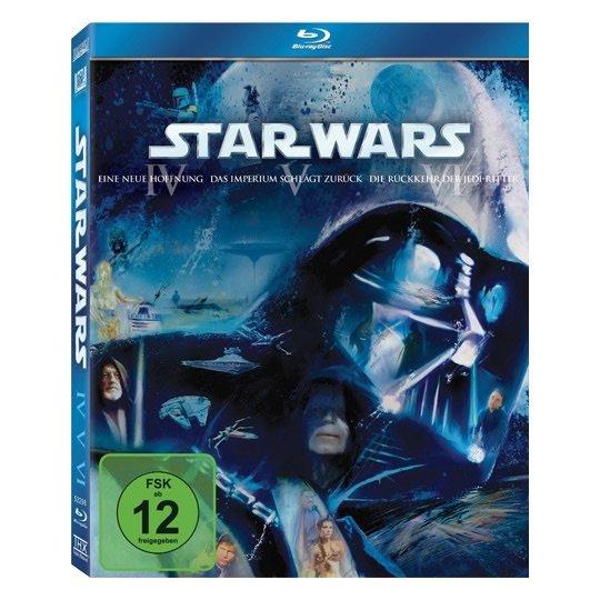 Star Wars Blu Ray Collection 4-6 u 1-3