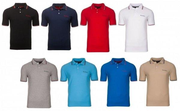 Pierre Cardin Poloshirts Tipped in 8 verschiedenen Farben