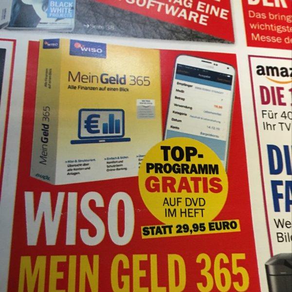 WISO Mein Geld 365 (1 Jahr) für 3,50€