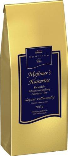 Amazon Prime : Messmer Momentum Tee Kaisertee - Schwarzteemischung, 2er Pack (2 x 100 g) - Nur  8,33 € statt 18 €