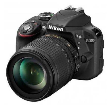 Nikon D3300 18-105 VR mit SD und Tasche im Saturn Hanau