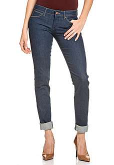 Wrangler Stretch-Jeans Damen Hose Denim Molly Slim Fit [50%]