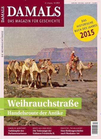 """(Wieder Da) Zeitschrift """"Damals"""" im Jahresabo für 6,80 anstatt 82,80"""