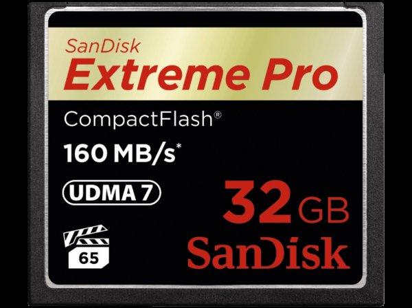 SanDisk Extreme Pro Flash-Speicherkarte - 32 GB CF 160Mb/s ebay