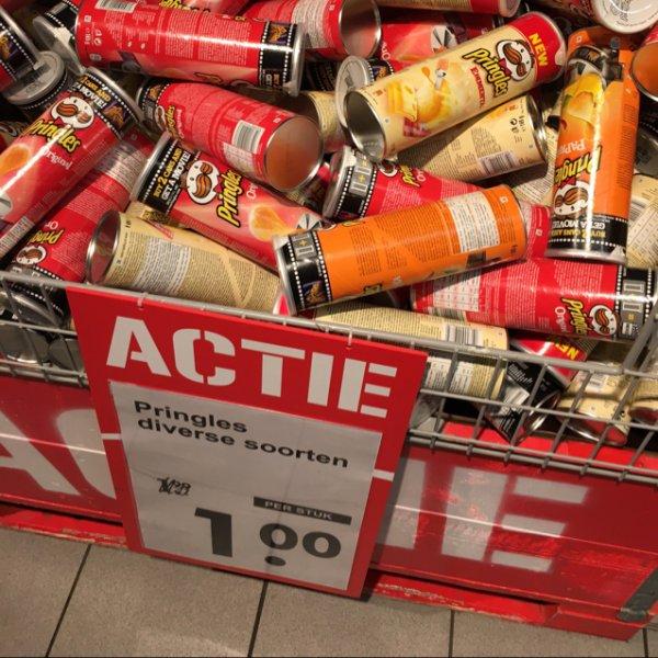 [Grenzgänger] Pringles für 1€ bei Coop (Niederlande)