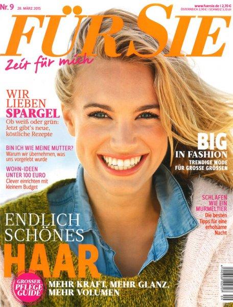 """(Zeitschriften-Club) Zeitschrift """"Für Sie"""" Jahresabo für 7,80€ anstatt 78€ bei groupon.de"""