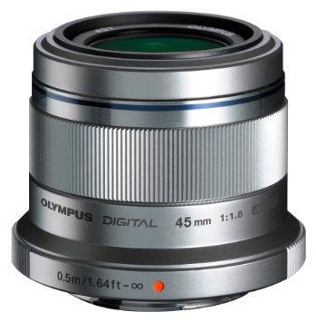 [AMAZON] Olympus M.Zuiko Digital 45 mm 1:1.8 Objektiv silber