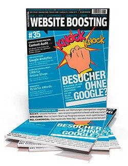 """SEO Fachzeitschrift """"Webseite Boosting"""" ein Heft gratis statt 9,80€ (Kündigung notwendig)"""