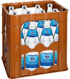 [Lokal Freiburg] Markgrafen Mineralwasser Kiste 12*0.7l für 1,20€