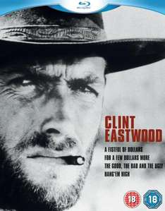 Clint Eastwood Collection Blu-ray für 12,25 € @ zavvi.de [1% qipu mögl.]