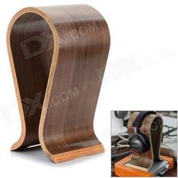 Kopfhörer Stand (Headphones Holder) aus Holz bei dx.com für 26.46 €