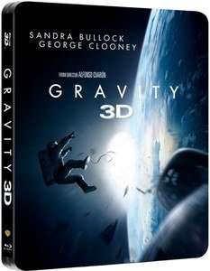 Gravity - Limited Edition Steelbook (Blu-ray 3D + Blu-ray) für 13,92€ bei Zavvi