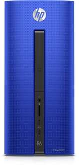 [Amazon] HP Pavilion 550-165ng Desktop PC (Intel Core i5-4460, 8GB RAM, 128GB SSD, Intel HD-Grafikkarte 4600, FreeDos) blau