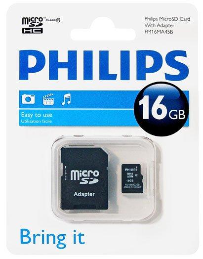 [Kaufland BW?] Philips Micro SD Karte Class 10 16GB