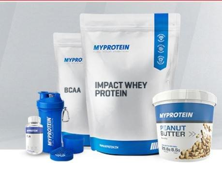 3für2 Aktion bei myprotein auf alle Artikel - z.B. 3 mal 1KG Beutel Schoko-Banane Impact Whey Protein für 35,72€