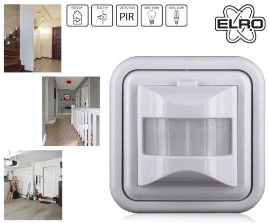 (1dayfly.com) Elro Bewegungsmelder für Standard Lichtschalter, Sets: 1, 2, 4 oder 8 Stück ab 19,90€ inkl. VSK