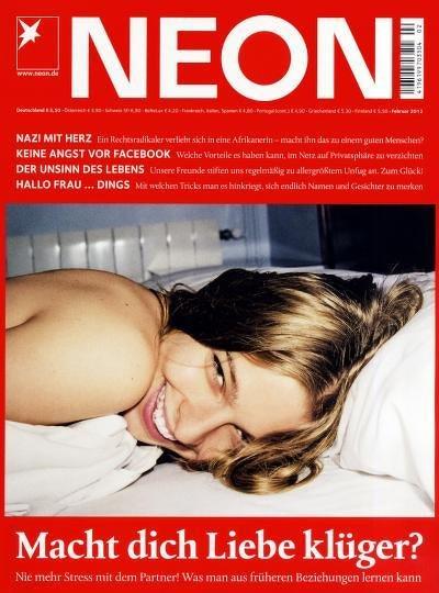 Zeitschrift NEON 12 Monate (+1 Monat bei Bankeinzug) für effektiv 9,40€