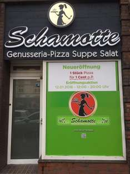 LOKAL Hamburg Winterhude 12.01. Schamotte Pizza Stück für 1 cent