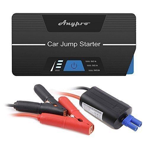 [Amazon] Auto Starthilfe, Anypro 15000mAh 600A, identifiziert USB Externer Akku mit LED Taschenlampe für 69,99 Euro