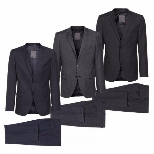 [eBay.de / engelhorn] s.Oliver Premium - Herren Anzug - schmaler Schnitt - in anthrazit, blau & schwarz