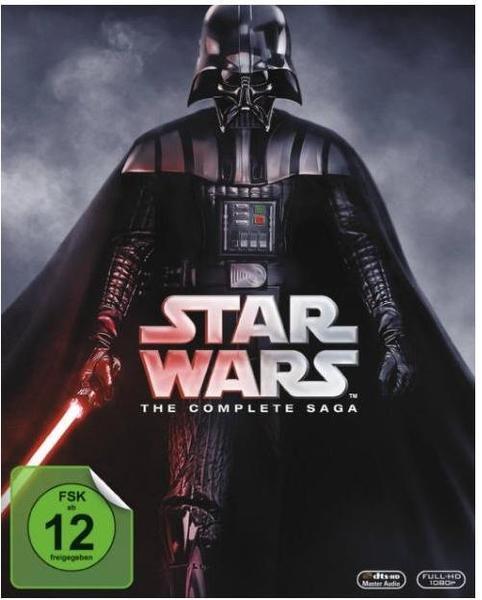 Star Wars: The Complete Saga [Blu-ray] für 67,99€ bei buch.de