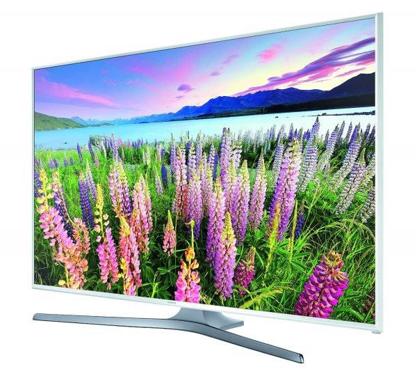 """Samsung UE40J5580 für 379€ - 40"""" FullHD TV mit Triple Tuner in weiß"""