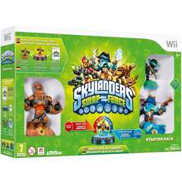 [Zavvi] Skylanders Swap Force Starter Pack - [Nintendo Wii]
