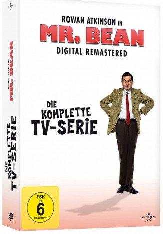 Mr. Bean - Die komplette TV-Serie - Remastered (DVD) für 8,69€ bei Media Dealer
