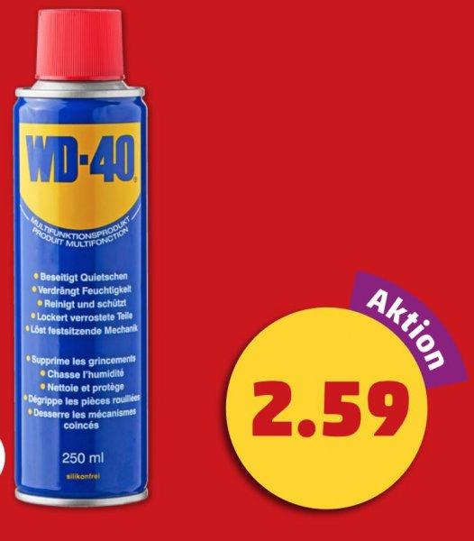 [Penny/Bundesweit] WD-40 Mutlifunktionsöl 250ml für 2,59€ (Online 7,49€) ab 14.01.2016