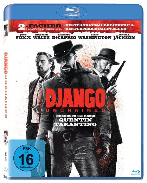 Django Unchained [Blu-ray] für 7,90€ bei Amazon.de (Prime)
