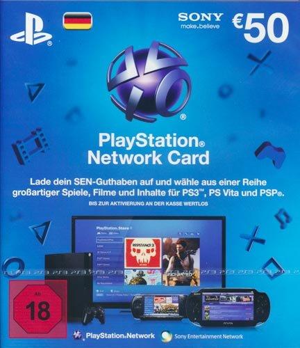 50 Euro PSN-Card für 44,55 €