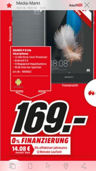 [Lokal in und rund um Hamburg]  Huawei p8 Lite 169€ nur am 16.1