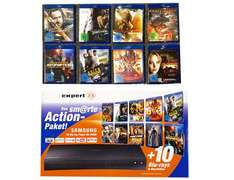 Samsung BDJ5500 Bundle - inkl. 10 Blu-Rays - 3D Blu Ray Player