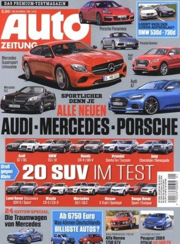 Auto Zeitung 12 Monate (+1 Gratismonat) für effektiv 2,80€