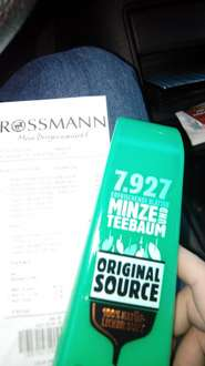 [Rossmann] Original Source Minze + Teebaum Duschgel 250ml [Green Label + Coupies]