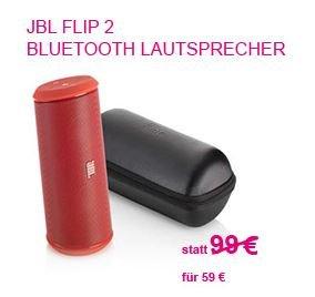 JBL Flip 2 rot [Telekomshop online]