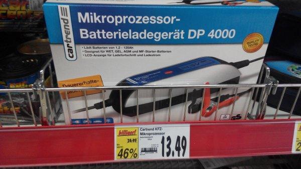 [Kaufland offline] Batterieladegerät Cartrend 4000