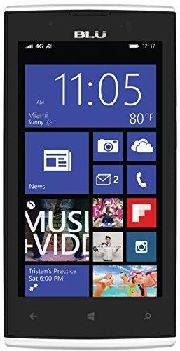 WIEDER DA: BLU Win JR LTE Smartphone (4,5 Zoll (11,4 cm) Touch-Display, 8 GB Speicher, Windows 8.1) für 59,99 € Amazon Blitzangebote