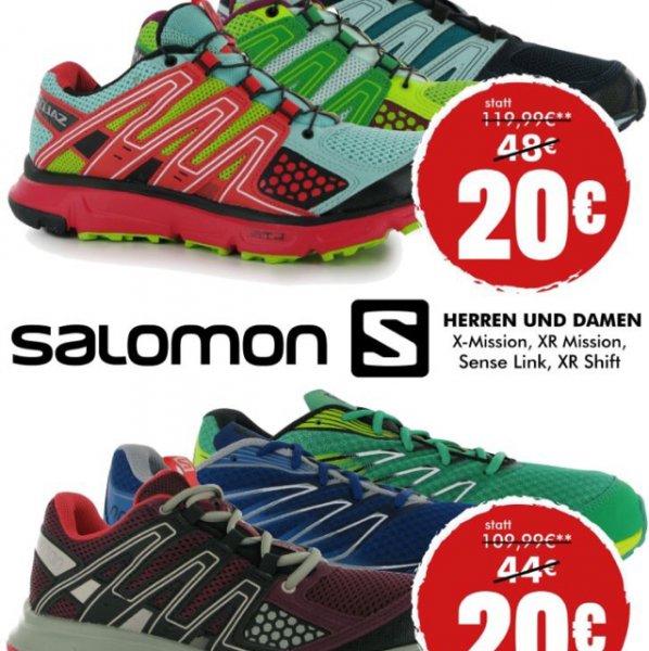 Lokal - Salomon Schuhe bei sportsdirect.com