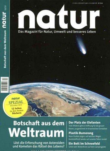 Jahresabo Zeitschrift NATUR gratis durch Bargeldprämie; Kündigung notwendig