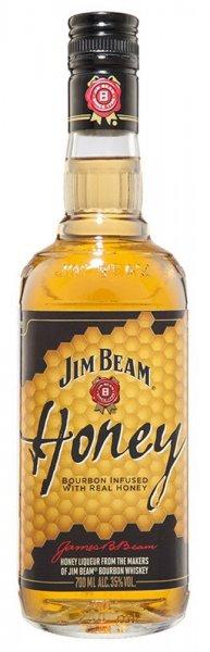 (Amazon Prime) Blitzangebot -  Jim Beam Honey Kentucky Straight Bourbon Whiskey (1 x 0.7 l) für 7,99€