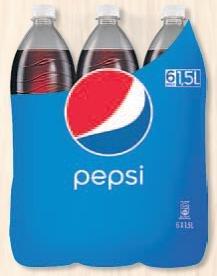 [V-Markt Ulm] Pepsi Cola, Schwip Schwap, Mirinda, 7up: 6x1,5l für 2,49€ (0,28€/l)