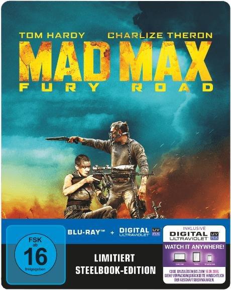 Mad Max 4 - Fury Road (Steelbook) [Blu-ray] bei mediamarkt.de für 12,99€