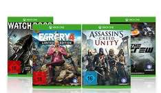 Gamestop 2 Xbox Spiele für 30 Euro // The Crew, Far Cry 4, Assassin's Creed Unity, Watch Dogs